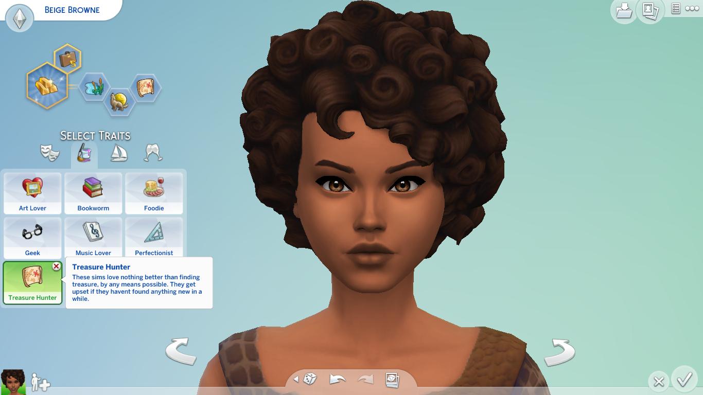 Mod The Sims - Treasure Hunter Custom Trait | Sims 4 CC