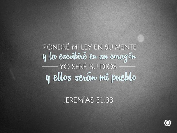 Jeremías 31:33