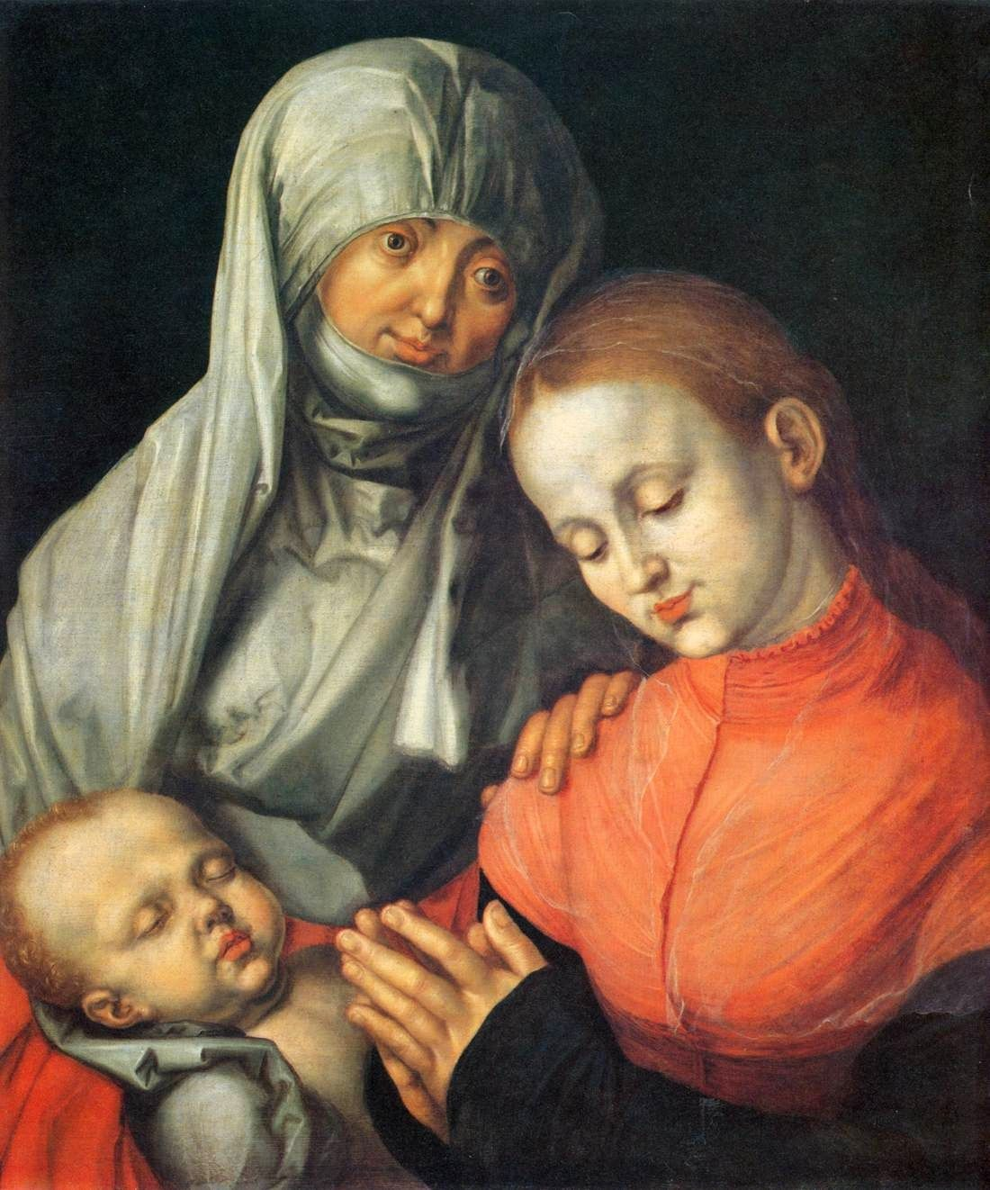 Durer Virgin And Child With Saint Anne Albrecht durer