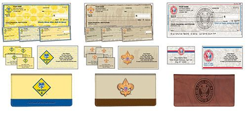 Bsa Licensee Adds Eagle Scout Checks And Checkbook Covers