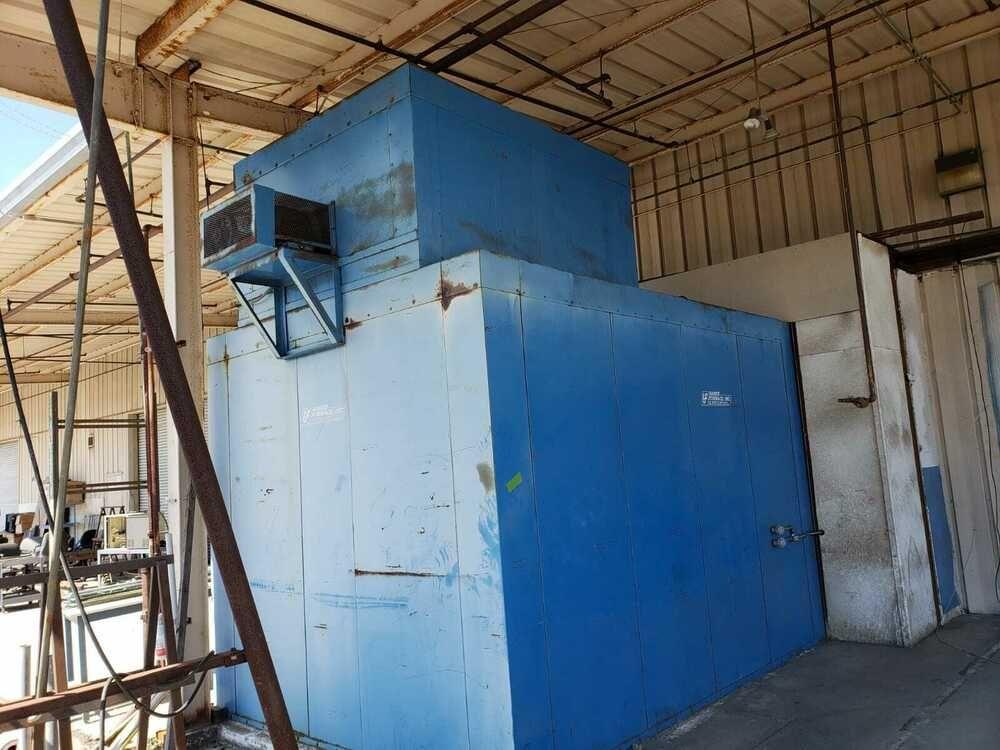 Baker Furnance Gas Fired Walk In Oven Model G 7 5813 600 F Temp
