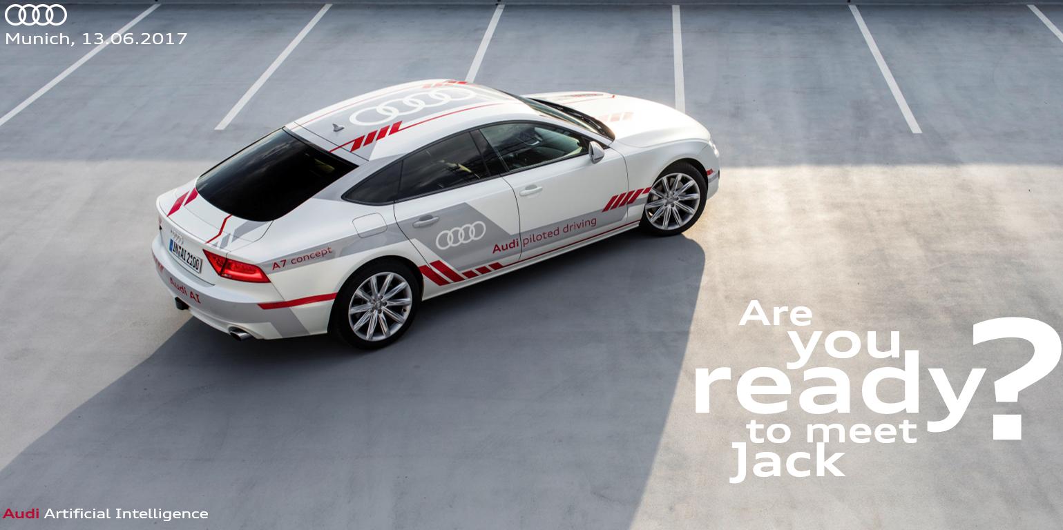 Audi Piloted Driving >> Audi Piloted Driving The Near Future Testing Concept Car Design