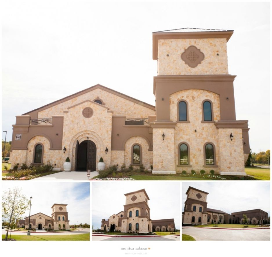 Wedding At Piazza On The Green Venue In Mckinney Texas