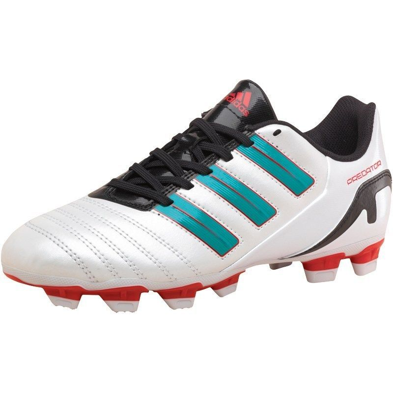 info for 05299 34cca Womens New Adidas Predito TRX FG White Green Energy Soccer Football Boots  UK 4-6