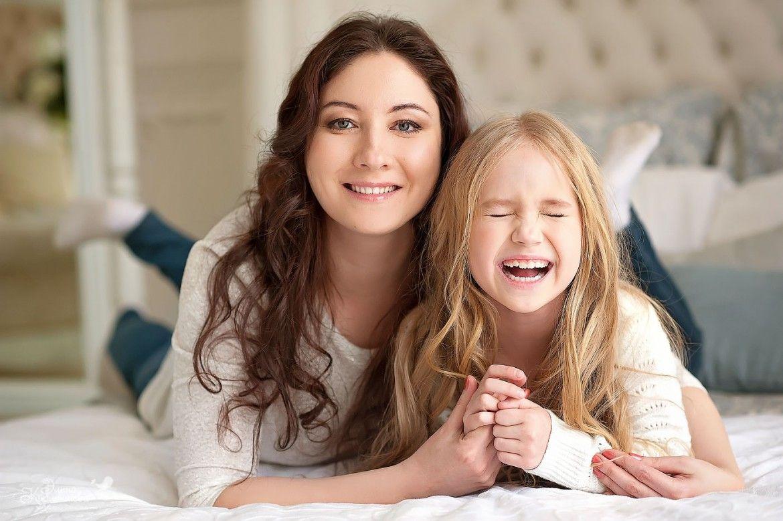 Картинки доченька и мама