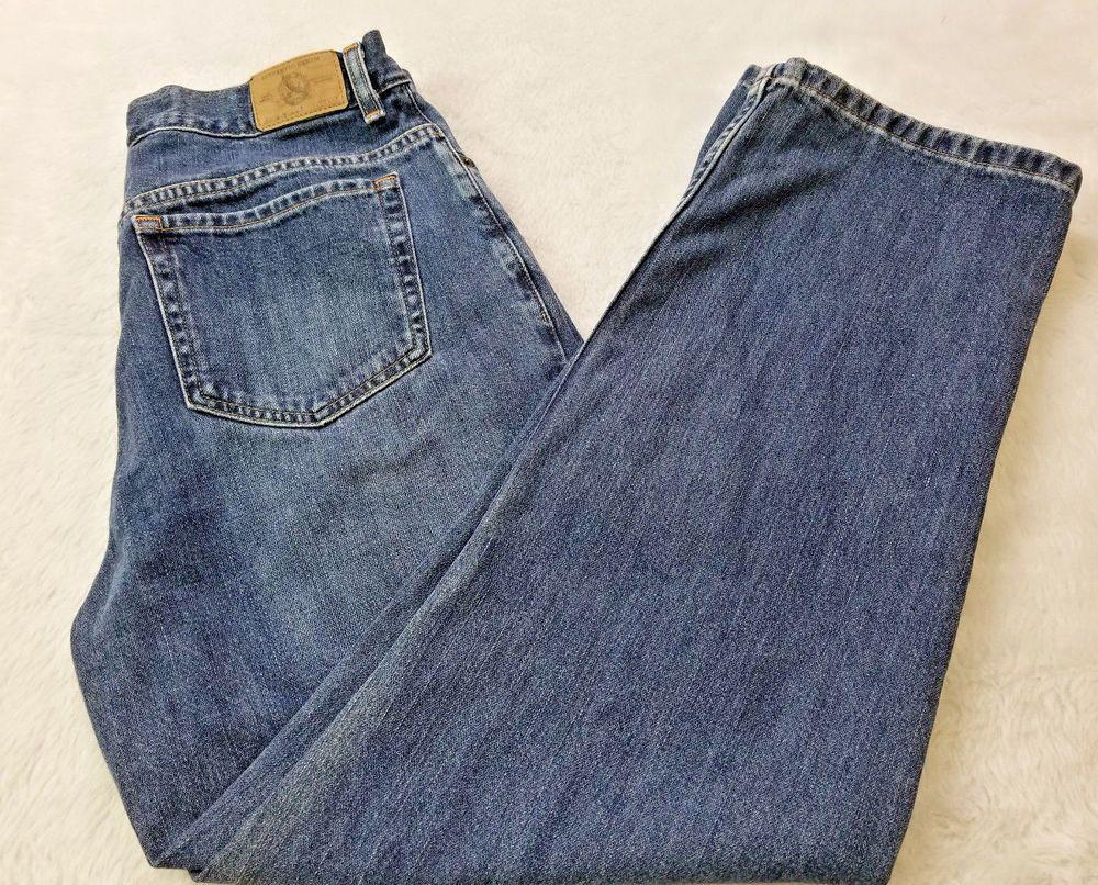 Eddie Bauer Womens Jeans Natural Fit Size 12P Petite