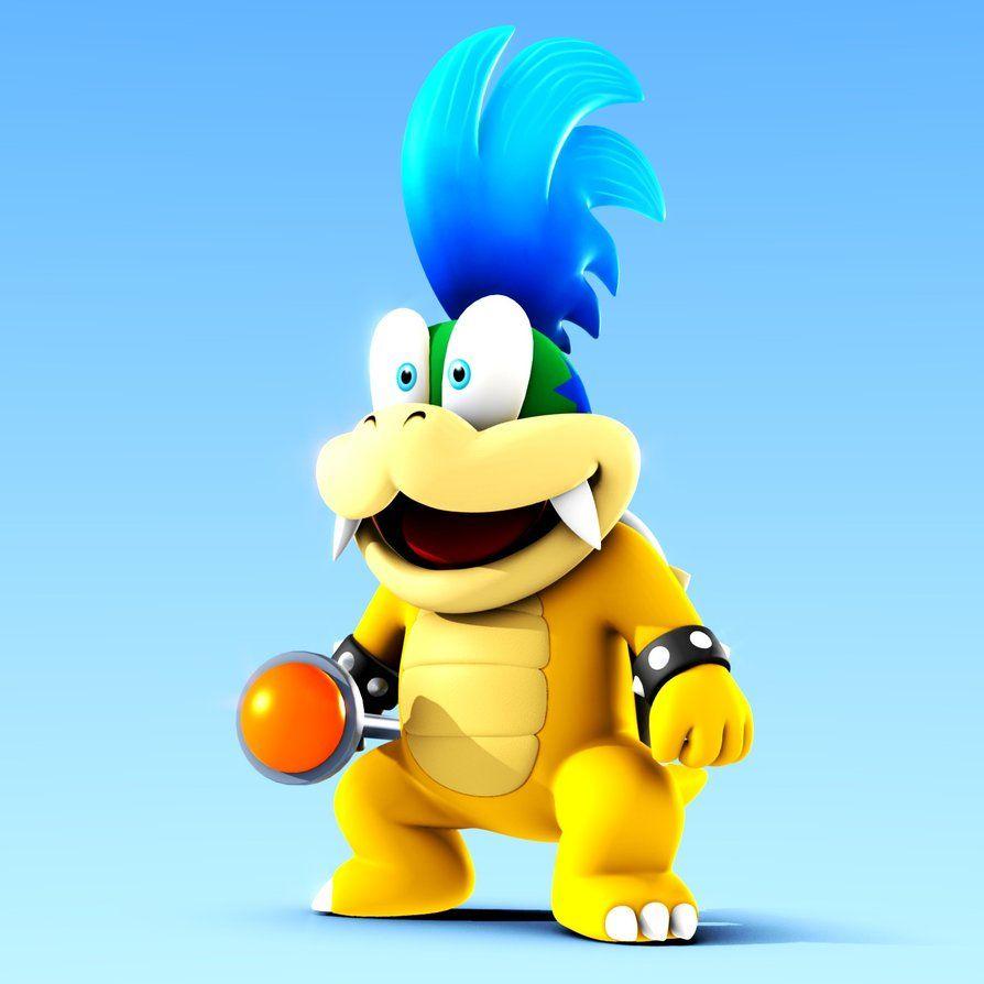 Larry Koopa - Super Mario Wiki, the Mario encyclopedia
