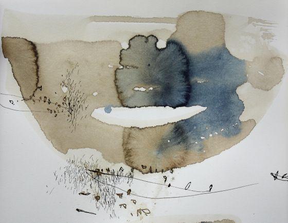 Ana Zanic, Albert's series, watercolour
