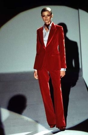 f307c69d6 Gucci by Tom Ford Fall 1996 Velvet Suit - I have been in love with this  suit since 1996.