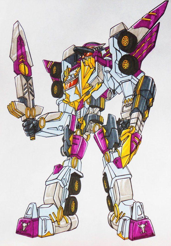 White Dragon Megazord Knight Mode By Kishiaku Power Rangers Coloring Pages Fantasy Character Design Power Rangers Art