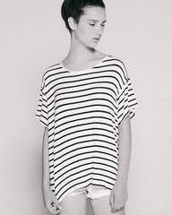 Jupiter Short Sleeve White/Black