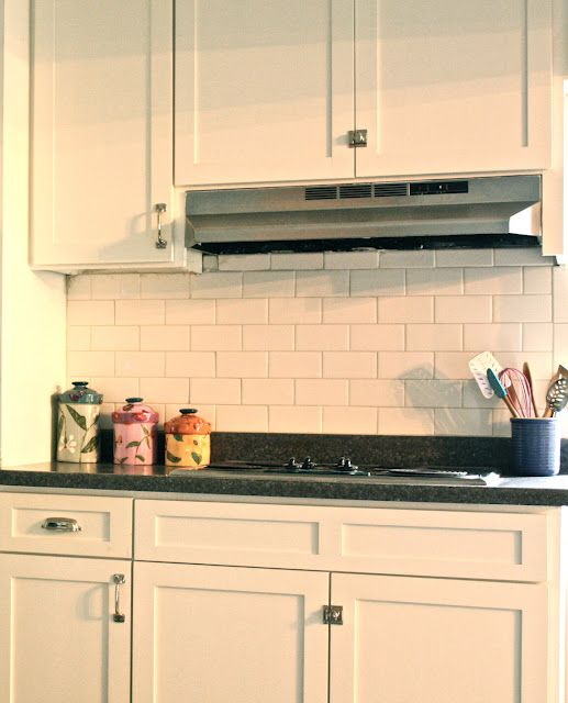 Fantastisch Tile Over Tile Kitchen Backsplash