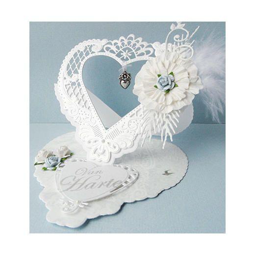 Marianne Design Creatables Dies Anja S Filigree Heart Lr0299