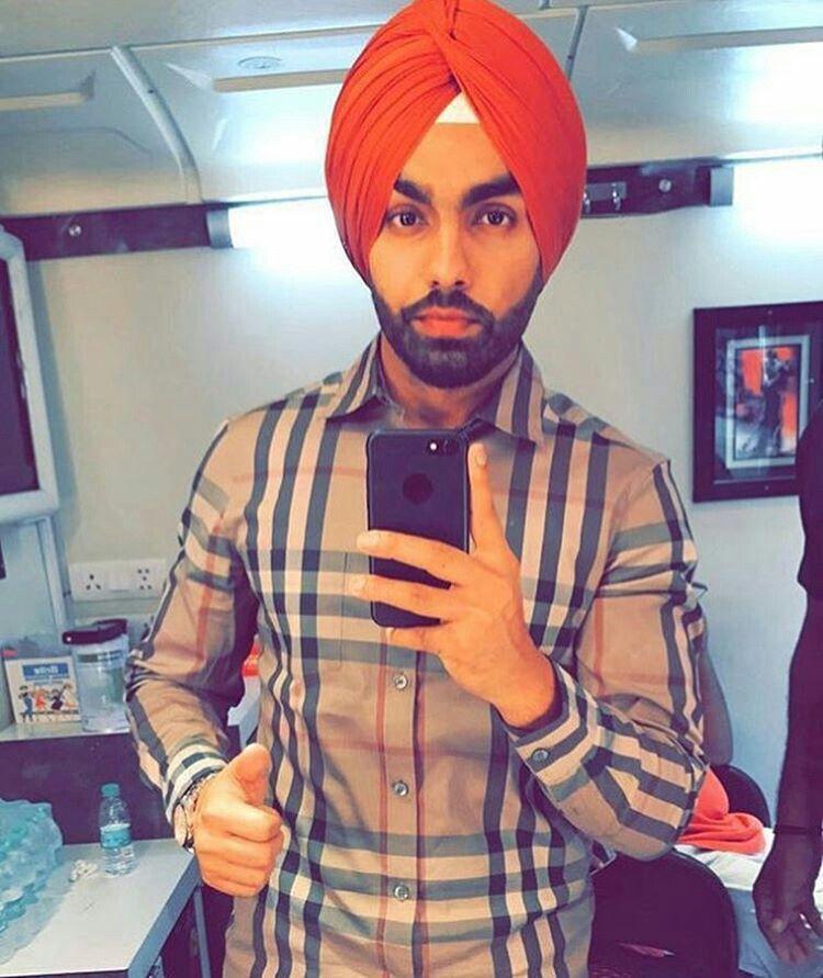Pin By Neelam Dhot On Punjabi Starz Ammy Virk Singer Celebs
