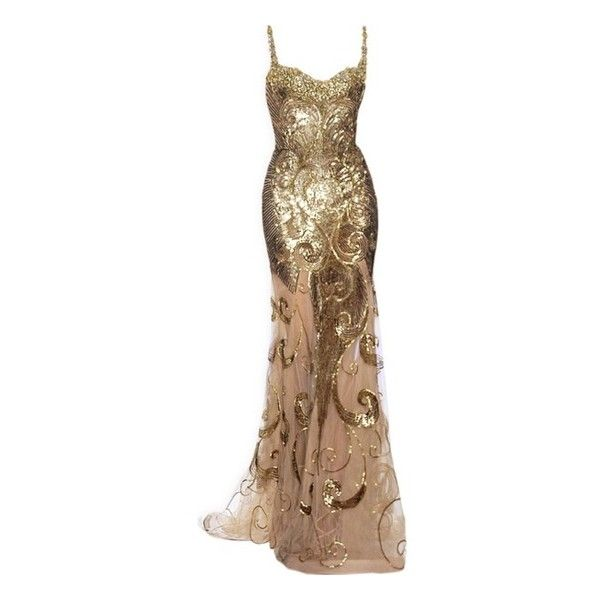 DRESS found on Polyvore featuring polyvore, women's fashion, clothing, dresses, gowns, long dresses, vestidos, brown dress and long brown dress