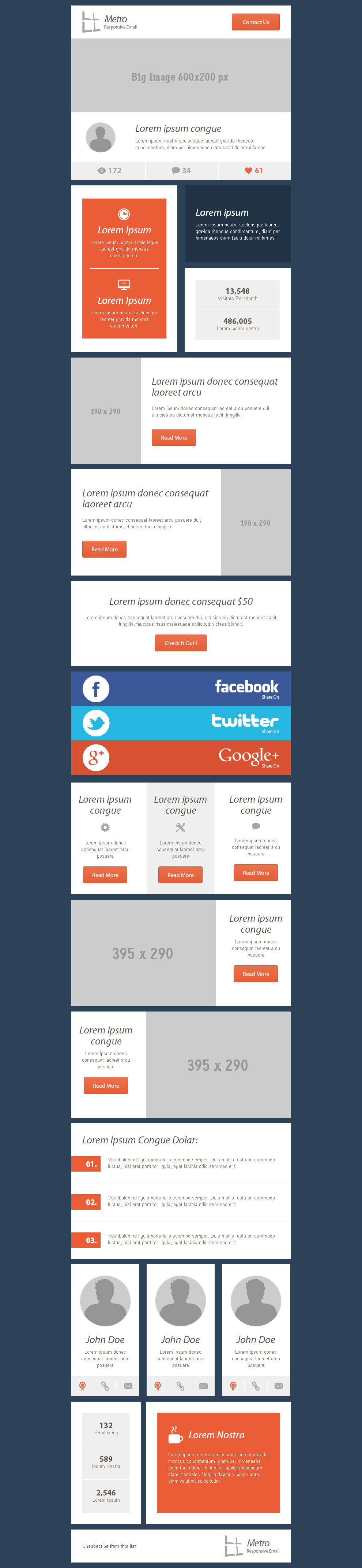 Top 5 Email Template Design Ideas | Email Design | Pinterest ...