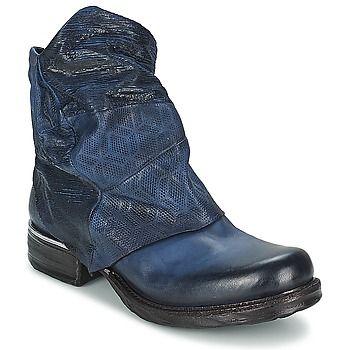 Airstep / A.S.98 SAINT METAL Noir - Livraison Gratuite avec  - Chaussures Boot Femme