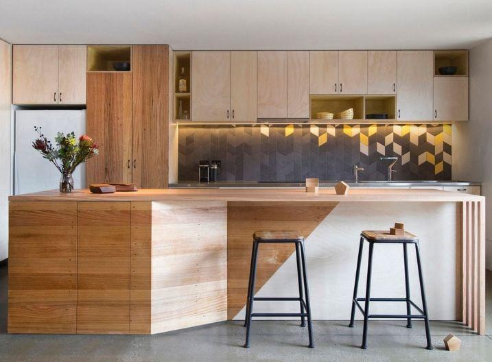 Exemples de Crédences de cuisine géometriques Crédence, De cuisine - exemple de maison moderne
