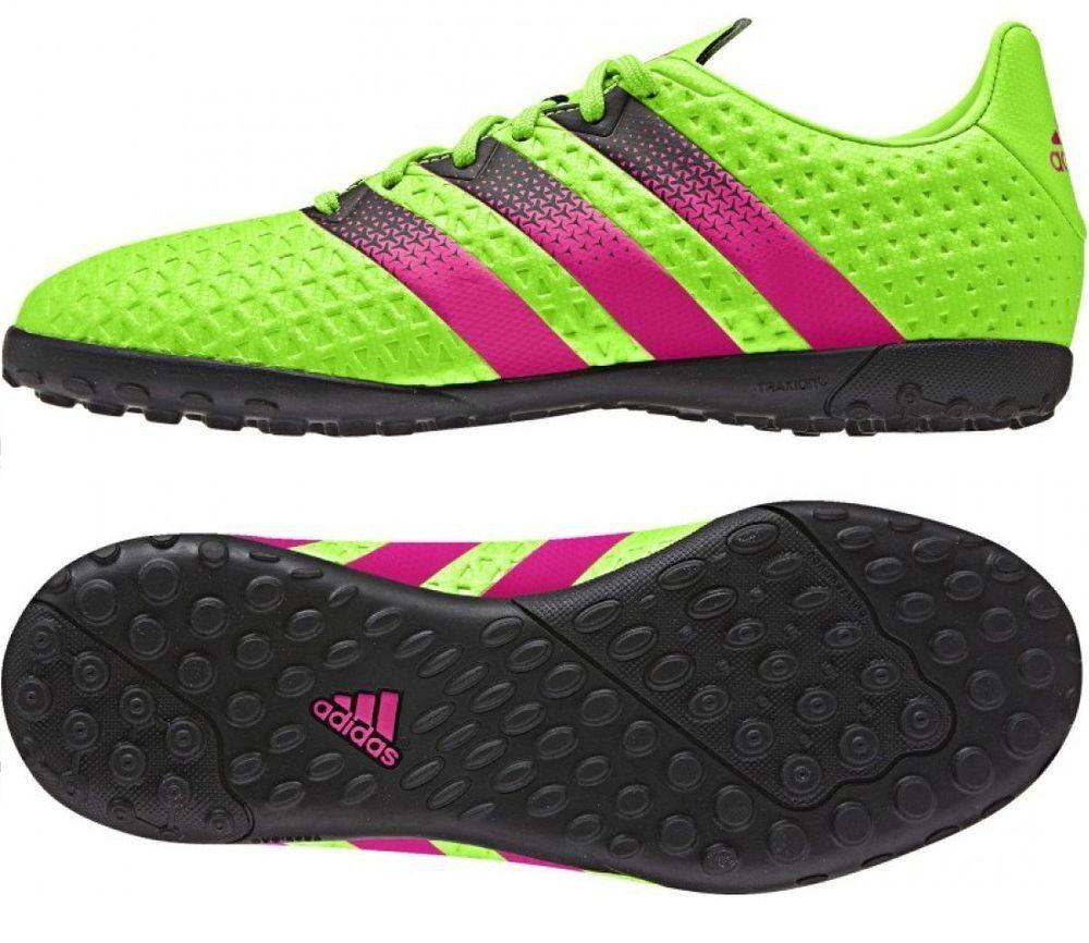 Adidas Boys Football Shoes ACE 16.4 Turf Outdoor Boots Training AF5079  Futsal  Adidas  KidsOutdoorFutsalFootballShoes 67b9da3c7c7fe