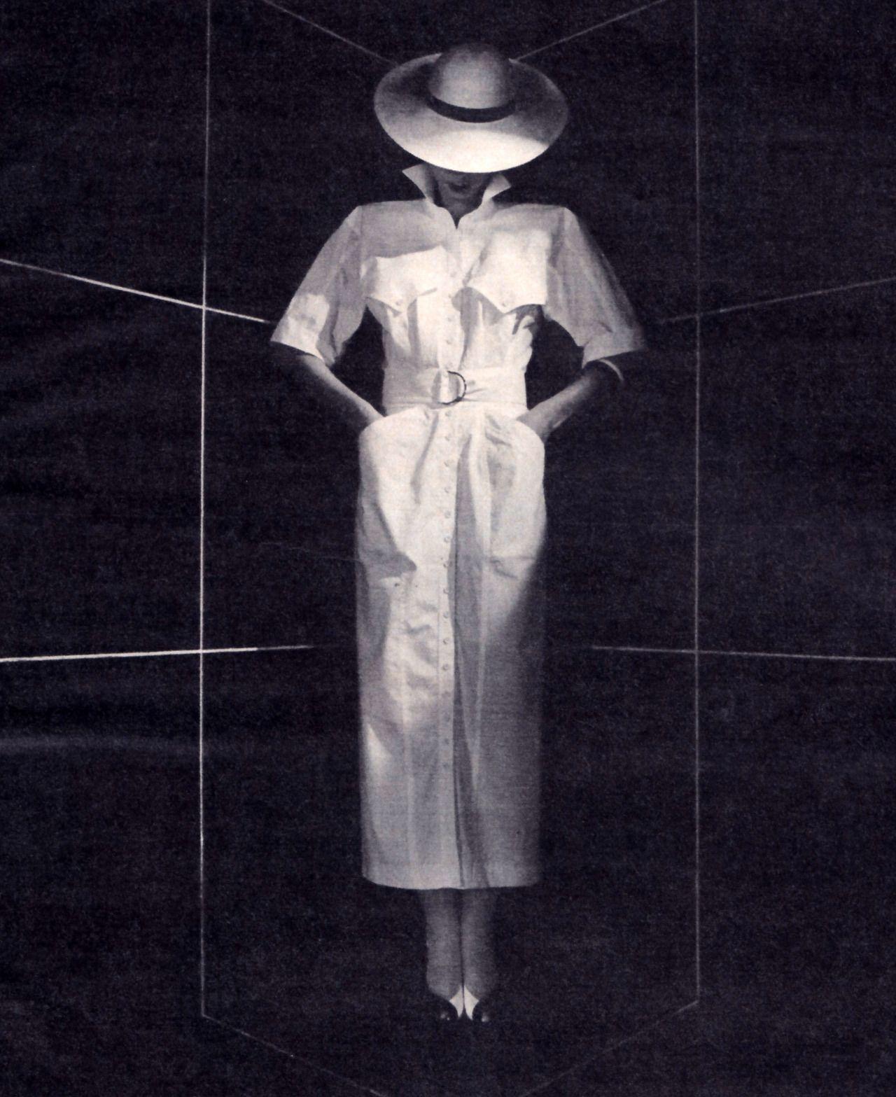 Karen Alexander/Robinson's, Glamour magazine, May 1985.