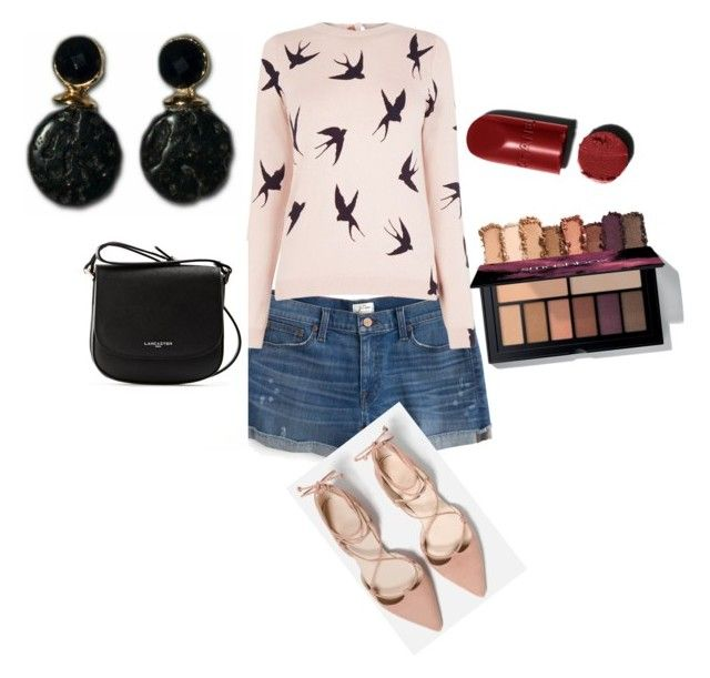 """""""O brinco que faltava"""" by zavalle on Polyvore featuring J.Crew, Oasis and Lancaster"""