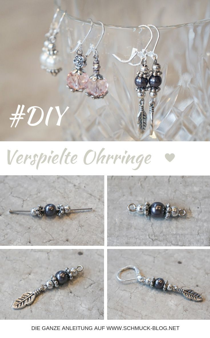 Photo of DIY playful earrings | Jewelry blog magazine