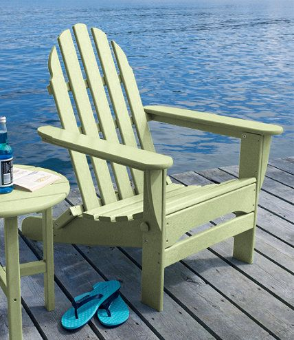 All-Weather Adirondack Chair: All-Weather at L.L.Bean | Exterior ...