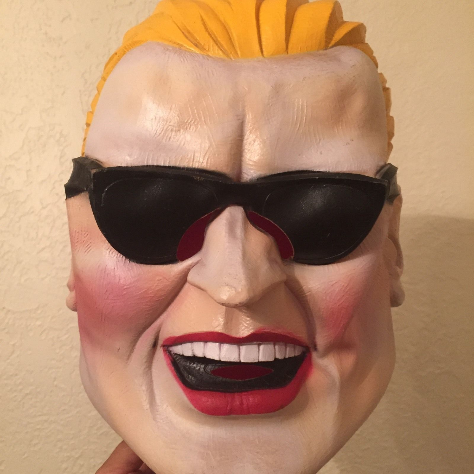 Vintage 1980's Max Headroom Rubber Halloween Mask Hard to Find ...