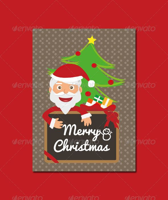 Christmas Card Templates - Holiday Greeting Cards | Graphic Design ...