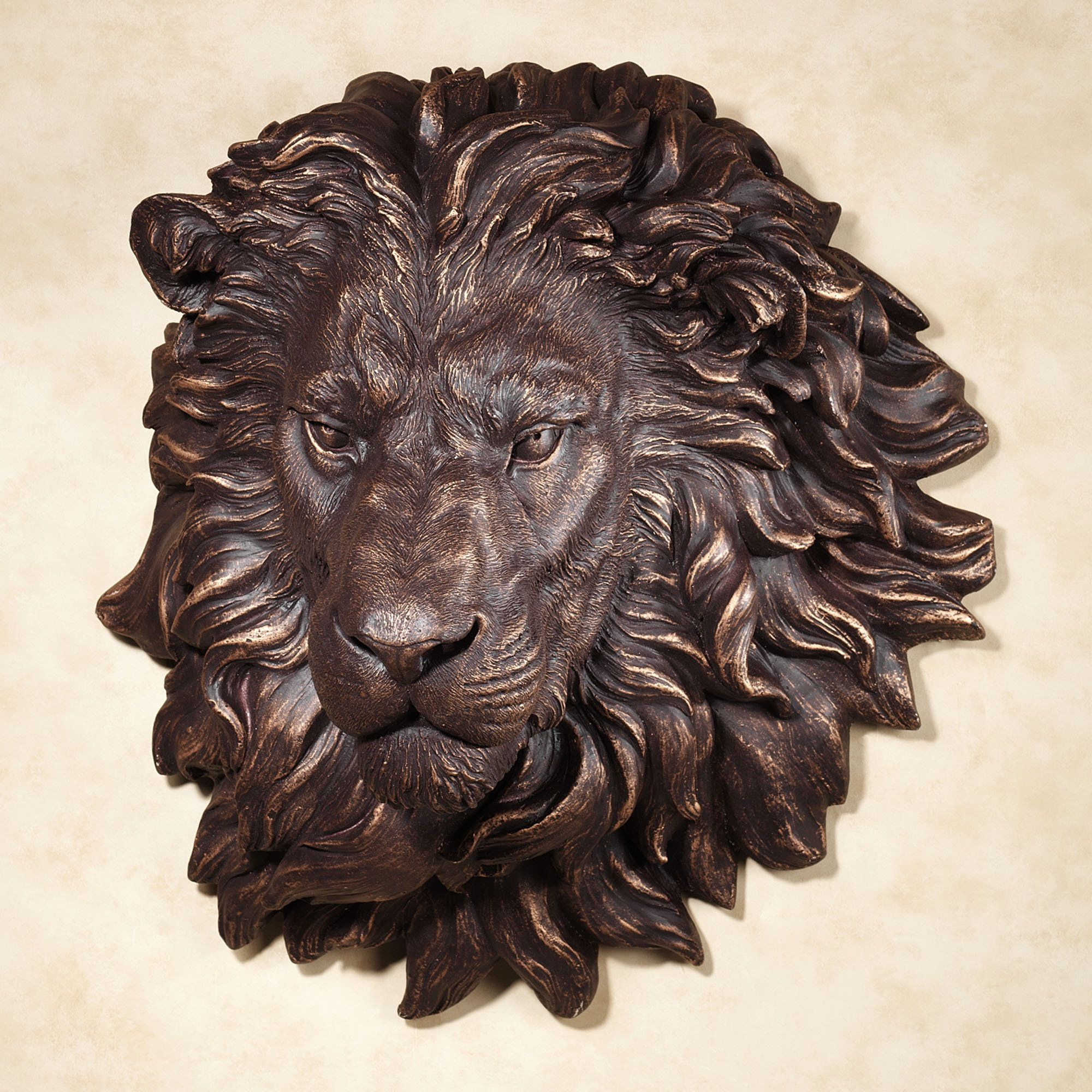 Power And Presence Lion Head Wall Art