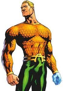 Aquaman -  Amazing water powers WOW !!!:-)