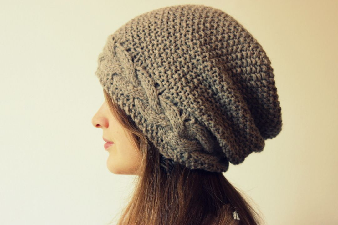 Slouchy Hat Knitting Patterns Slouchy Hat And Knitting Patterns