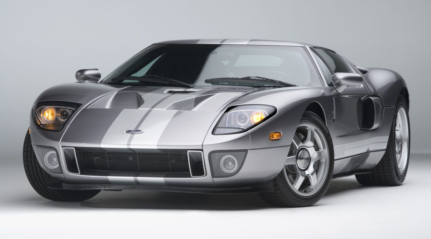 Then And Now 2006 Ford Gt For Sale In 2007 Ford Gt Ford Gt For Sale Cool Sports Cars