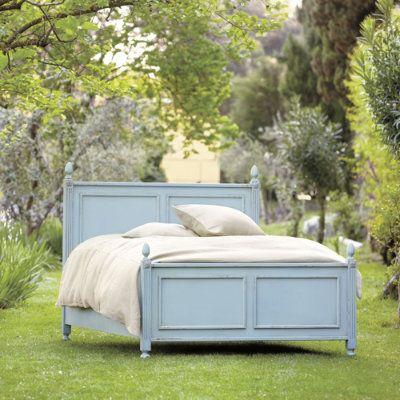 Casa Florentina Louis XVI Panel Bed - Custom Apartment Pinterest