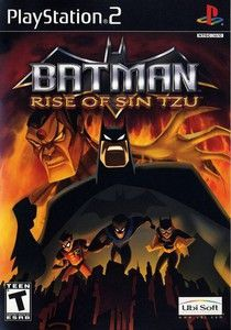 Batman Rise Of Sin Tzu Ps2 Game With Images Batman Rises