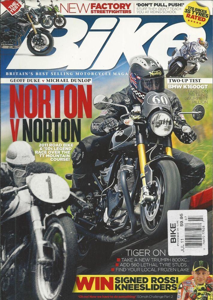 Bike Motorcycle Magazine Norton Bmw Triumph Tiger Factory Street