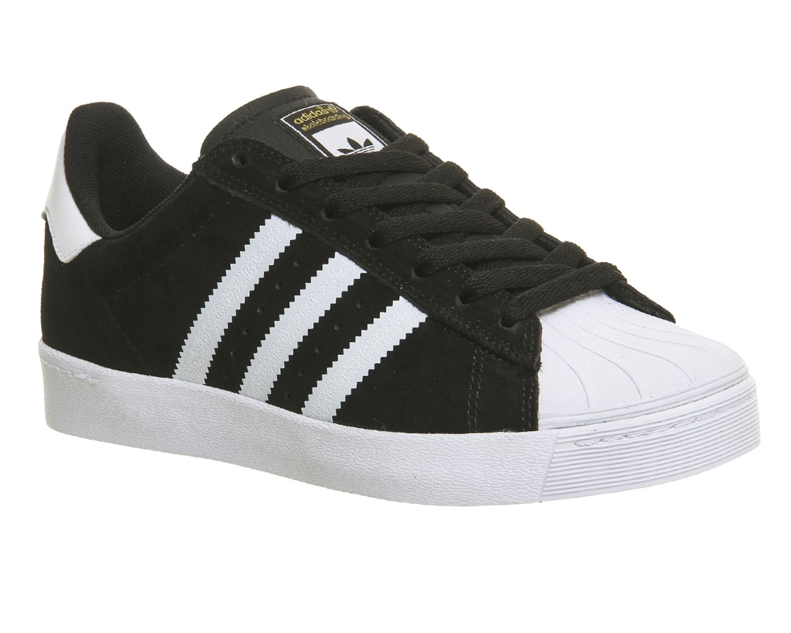 4990a4dcc Buy Core Black White Adidas Superstar Vulc Adv from OFFICE.co.uk ...