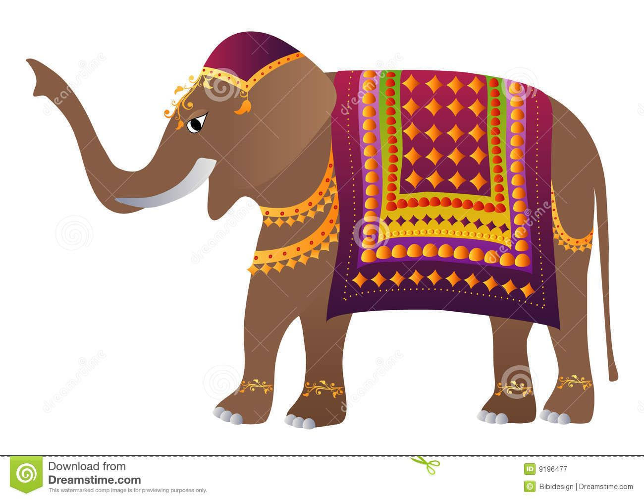 Decorated Indian Elephant Download From Over 30 Million High Quality Stock Photos Images Vectors Sign U Indian Elephant Art Indian Elephant Elephant Decor