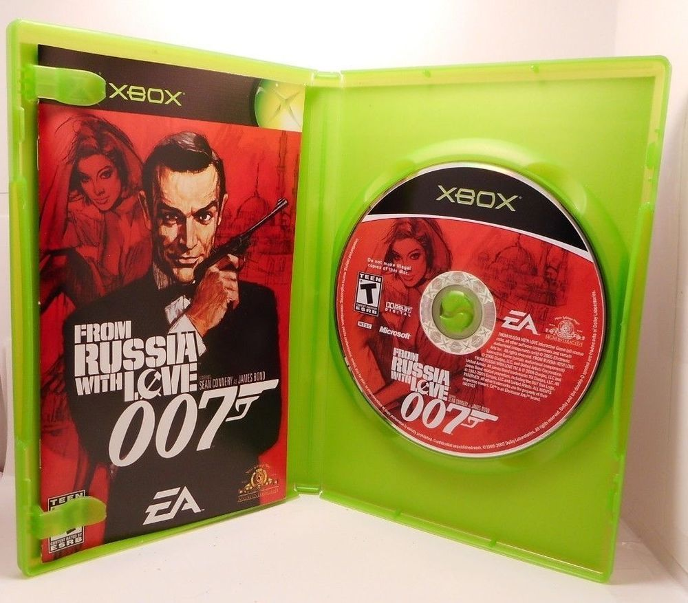 James Bond 007 From Russia With Love Xbox Best Xbox Game