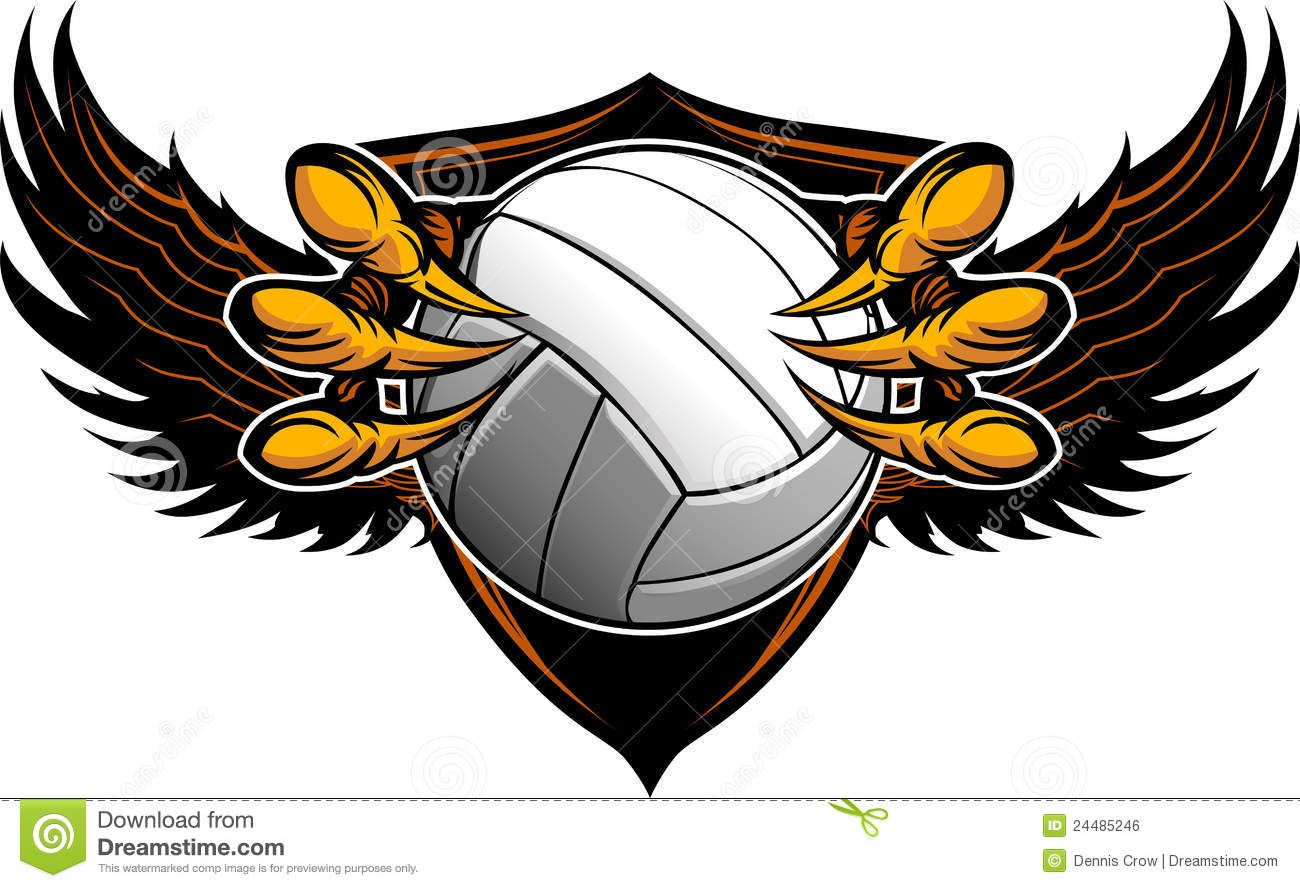 Eagle Volleyball Talons Claws 24485246 Jpg 1300 888 With Images Eagle Mascot Eagle Claw Vector Illustration