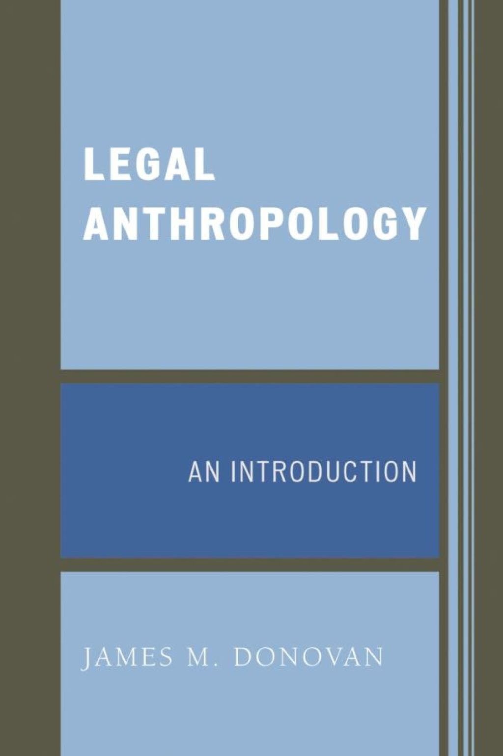 Legal Anthropology Ebook In