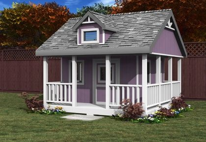 Nice Kids 10x10 Playhouse I Had One Growing Up. I Wanna Get One Of These If