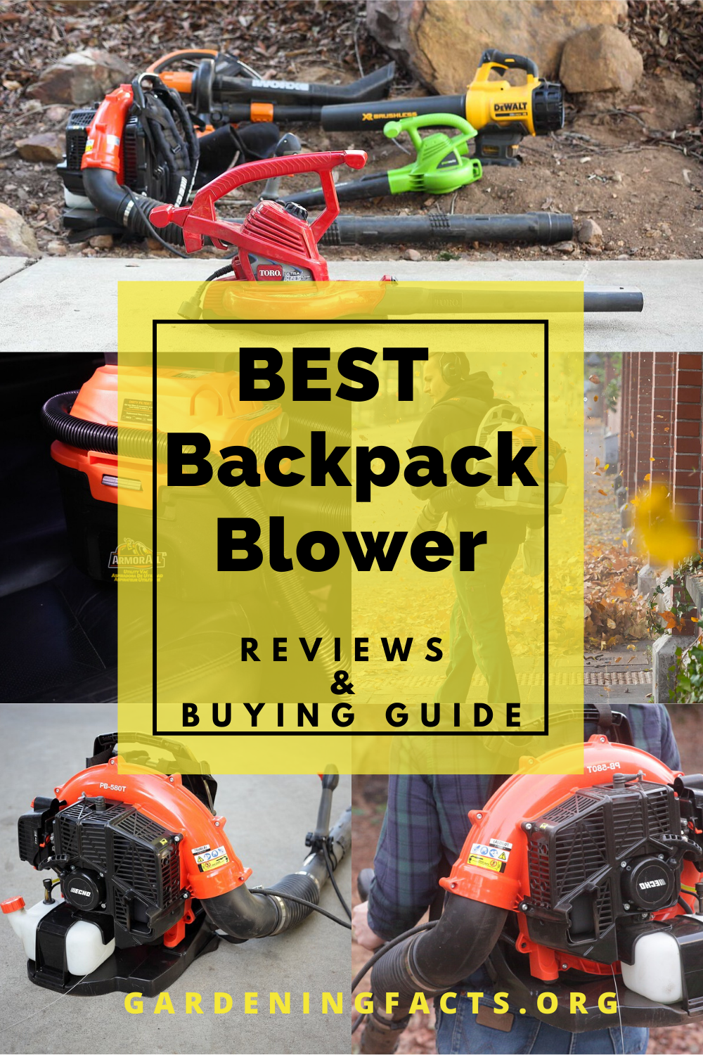 Best Backpack Blower 2020 Reviews Buying Guide In 2020 Backpack Blowers Cool Backpacks Backpacks