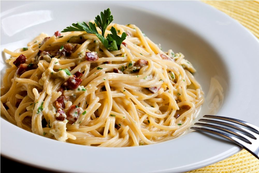 espaguete carbonara - Pesquisa Google