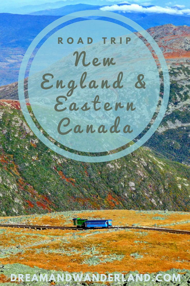 Indian Summer: How To Enjoy New England And Eastern Canada - Dream and Wanderland