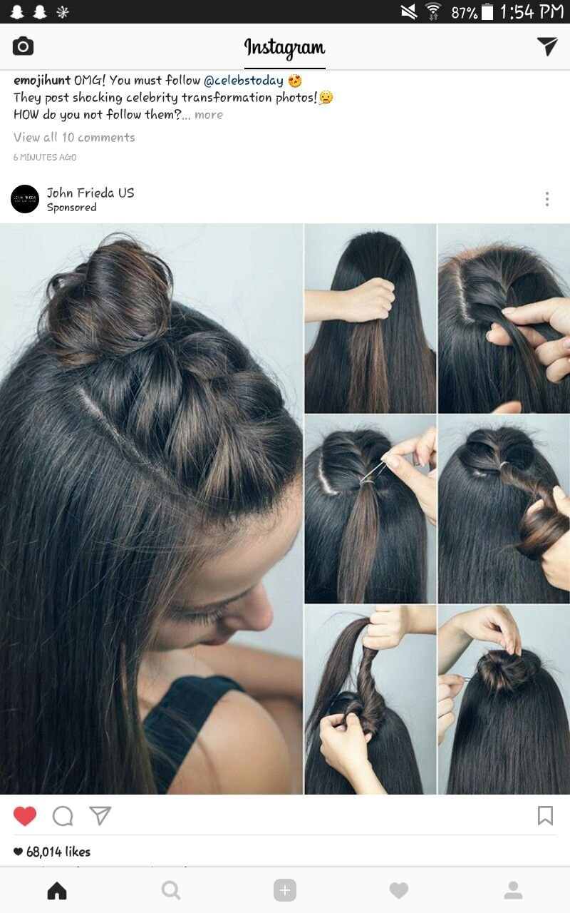 Pin by sydney maria on pretty hair styles pinterest easy