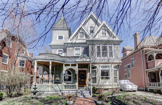 Sweet House Dreams 1885 Queen Anne Victorian In Dayton Ohio Victorian Homes Old Houses Victorian