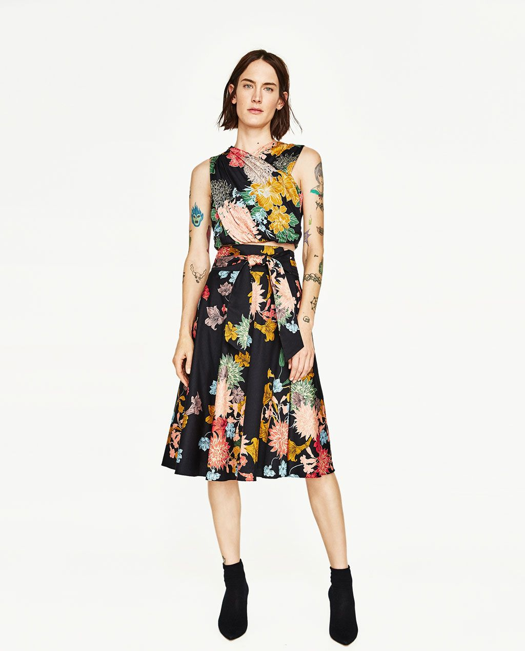 FLORAL PRINT SKIRT-View All-SKIRTS-WOMAN | ZARA United States