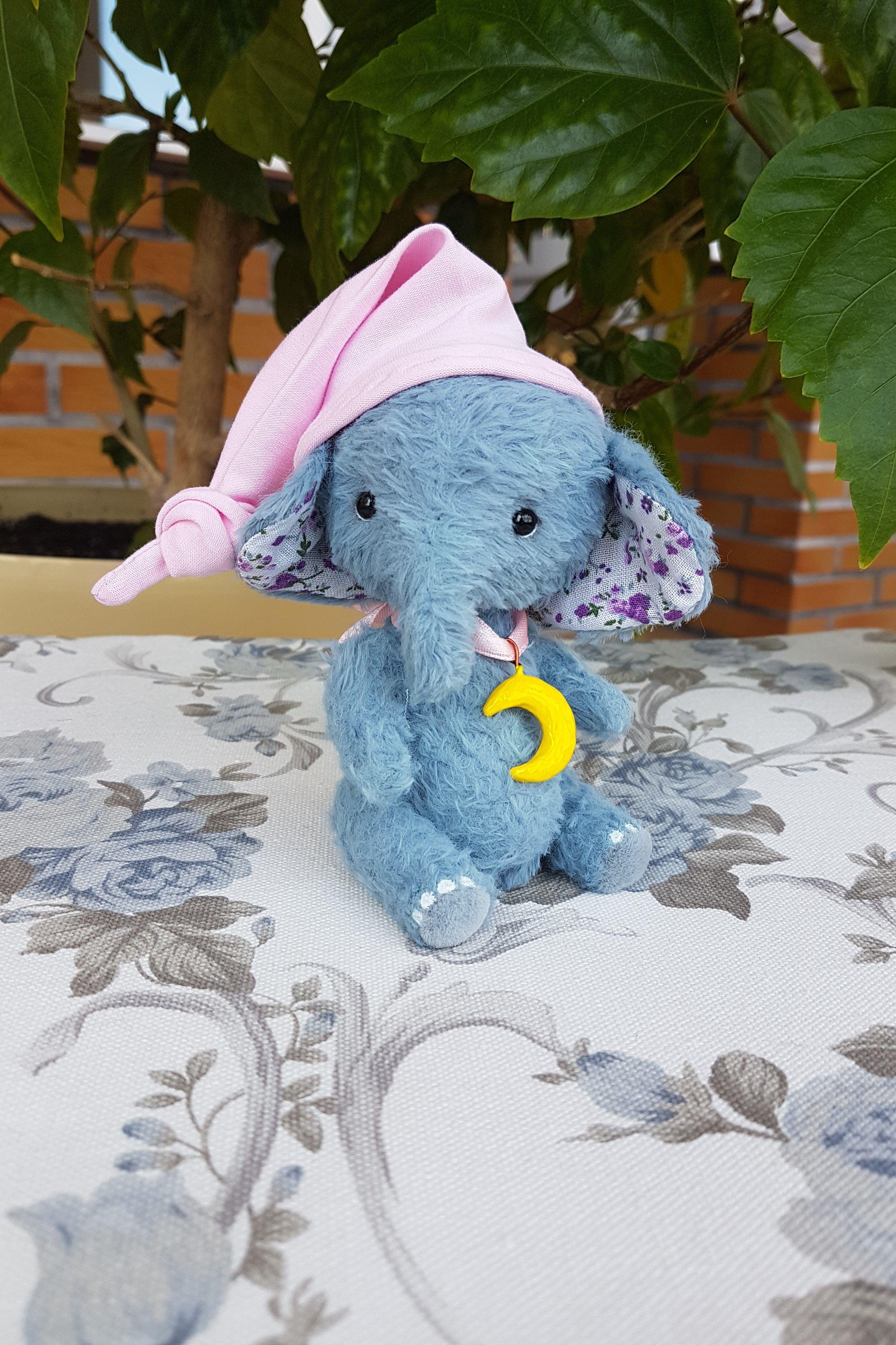 Elephant Mr Splushkin By Diana Verevkina