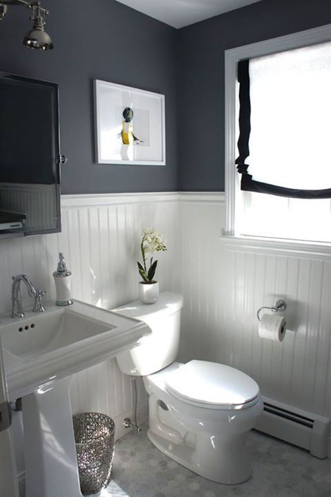 3 Tips Add Style To A Small Bathroom  White Tiles Beads And Board Inspiration Small Bathroom With Window Decorating Design